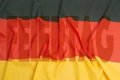 Dag av tysk enhet Arkivbilder