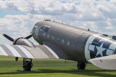 Dag DDouglas C-47 Dakota BBMF Fotografering för Bildbyråer