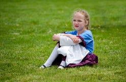 dag dromend meisje Royalty-vrije Stock Fotografie
