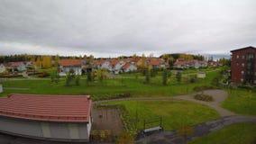 Dag en nacht timelapse videokerava, Finland stock videobeelden