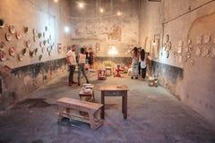Dag för öppna dörrar för konstnäratelier Arkivfoto