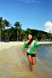 dag för 5 strand royaltyfri bild
