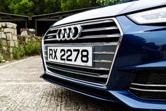Dag för Audi A4 Avant 45 TFSI quattrodrev Arkivfoton