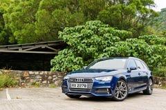 Dag för Audi A4 Avant 45 TFSI quattrodrev Arkivbild