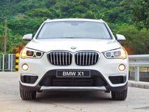 Dag för BMW X1 2016 provdrev Royaltyfri Fotografi