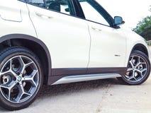 Dag för BMW X1 2016 provdrev Royaltyfria Foton