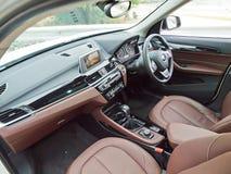 Dag för BMW X1 2016 provdrev Royaltyfri Foto
