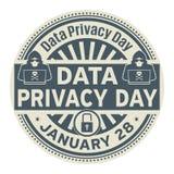 Dag för dataavskildhet, Januari 28 stock illustrationer