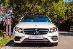 Dag för drev för prov för Mercedes-Benz E 200 gods 2017 Royaltyfri Foto