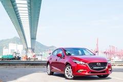 Dag för drev Mazda3 2016 Arkivfoton