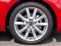 Dag för drev Mazda3 2016 Royaltyfri Fotografi
