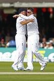 Dag 2012 för England V Sydafrika 3rd provmatch 1 Arkivbild