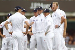 Dag 2012 för England V Sydafrika 3rd provmatch 2 Arkivfoto
