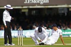 Dag 2012 för England V Sydafrika 3rd provmatch 1 Fotografering för Bildbyråer