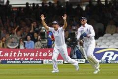 Dag 2012 för England V Sydafrika 3rd provmatch 1 Royaltyfri Fotografi