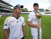 Dag 5 för England V Sydafrika 1st provmatch Royaltyfri Fotografi