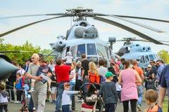 Dag för flyg AIRVG2017 i Velika Gorica Royaltyfri Fotografi