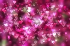 Dag för hjärtabakgrundsvalentin royaltyfria foton