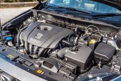Dag för Mazda CX-3 2017 provdrev Arkivfoto