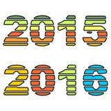 Dag för nytt år Arkivbild