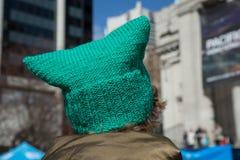 Dag för rolig hatt för smaragdfärg solig Royaltyfri Fotografi