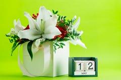 Dag för sjuksköterskor för kalender12 Maj International Royaltyfri Foto