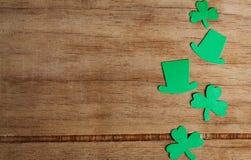 Dag för St Patricks för bakgrund lycklig Arkivbild