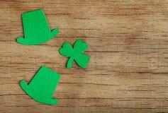 Dag för St Patricks för bakgrund lycklig Royaltyfri Fotografi