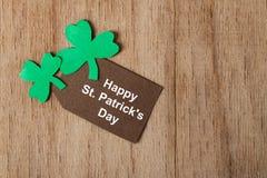 Dag för St Patricks för bakgrund lycklig Fotografering för Bildbyråer