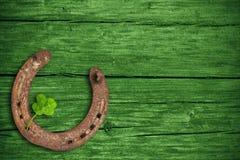 Dag för St Patricks, lyckliga berlock Arkivfoton