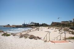 Dag för strand för badare` s Arkivbild