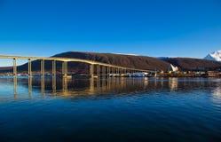 Dag för Tromso spektakulär landskapsommar Royaltyfria Bilder
