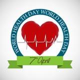 Dag för världshälsa Royaltyfri Fotografi