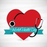 Dag för världshälsa Arkivfoto