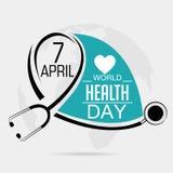 Dag för världshälsa Fotografering för Bildbyråer
