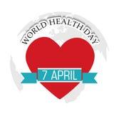 Dag för världshälsa Royaltyfri Foto
