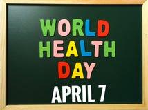 Dag för världshälsa Royaltyfri Bild