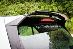 Dag för Volkswagen Golf ClubSport 2016 provdrev Royaltyfria Foton