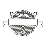 Dag f?r Movember prostatacancer royaltyfri illustrationer