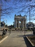 Dag i Milan Royaltyfria Bilder