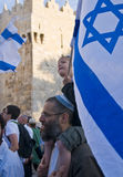 dag jerusalem Royaltyfri Fotografi