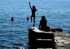 Dag p? vattnet royaltyfri fotografi