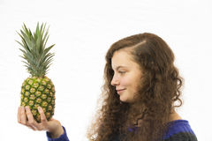 Dag Pineapple 1 Fotografia Stock