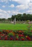 dag trädgårds- luxembourg paris september arkivbilder