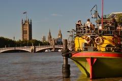 Dag ut i London Arkivfoto