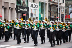 2014 Dag van de Arbeidparade in New York Stock Fotografie