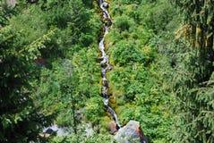 Dag van de de bergen de hete zomer van Alma Ata Royalty-vrije Stock Foto's