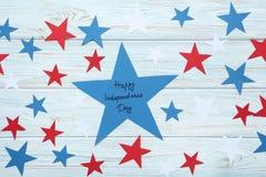 Dag van de inschrijvings de gelukkige onafhankelijkheid royalty-vrije stock afbeeldingen