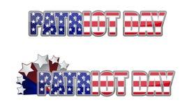 Dag van de patriot/september 11 vector illustratie