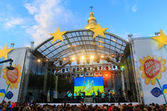 Dag van Europa in de Oekraïne 2015 Stock Afbeelding